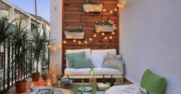 Balkon Dekorasyonu İçin 5 Küçük Dokunuş