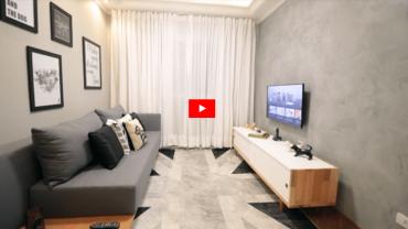 Füme Beyaz Oturma Odası Dekorasyonu (Video)