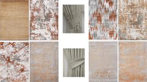 Soru 30: Koyu Gri Kiremit Koltuk Takımı İle Uyumlu Duvar Rengi Halı Perde Önerisi