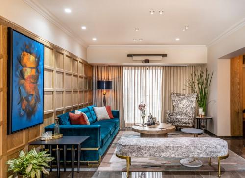 Ev Turu 1: Modern Tarzda Dekorasyona Sahip 3+1 Mumbai Evi