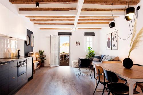Ev Turu 5: Modern Dekorasyona Sahip 70 M2 1+1 Barselona Evi