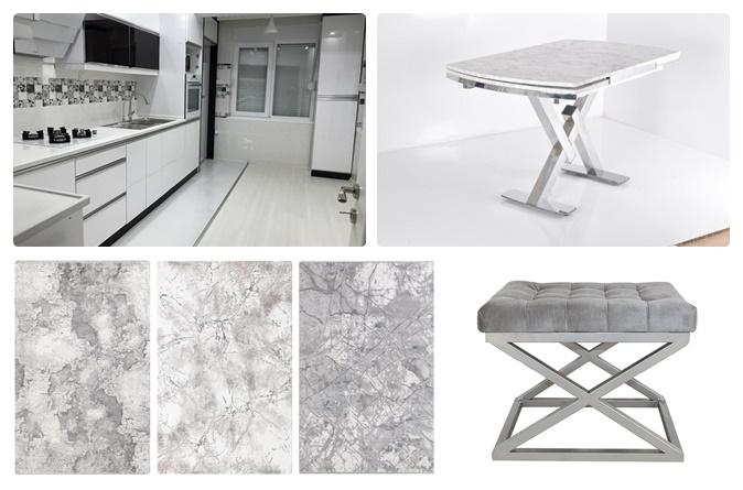 Soru 95: Beyaz Mutfak Dekorasyonu İçin Halı ve Yemek Masası Önerisi