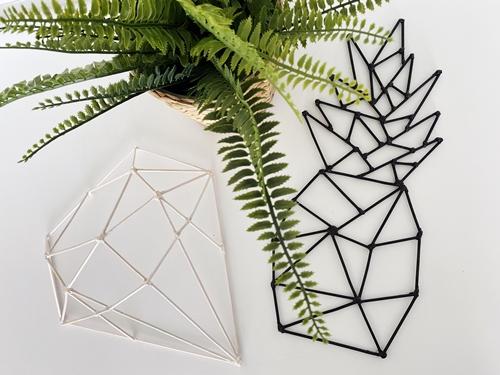 Çöp Şişlerden Geometrik Duvar Dekoru Yapımı
