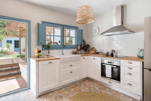 75 Güzel Fotoğraf İle Mutfak Dolap Renkleri İçin Öneriler
