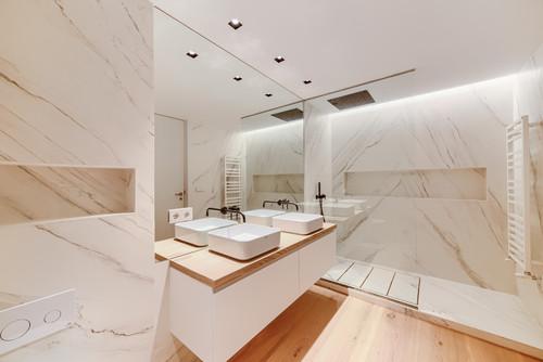 Fayanssız Banyo Modelleri İçin 30 Örnek