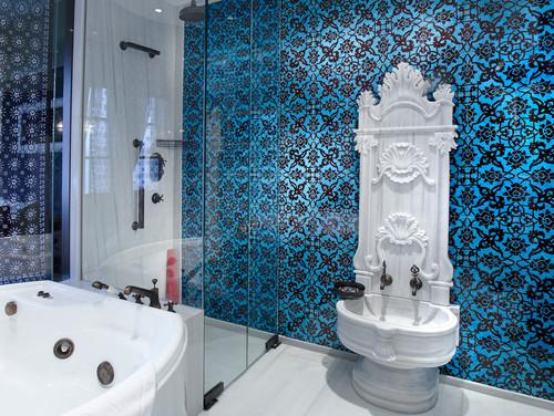 Hamam Tarzı Banyo Dekorasyonları