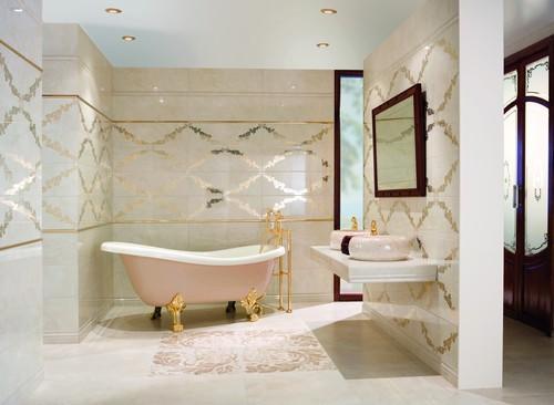 Banyo Küvet Dekorasyonu