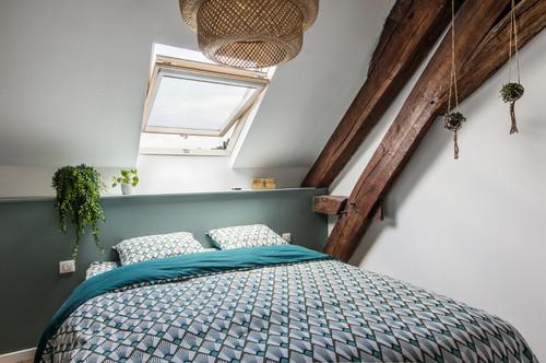 Tavan Arası Çatı Katı Yatak Odası Modelleri