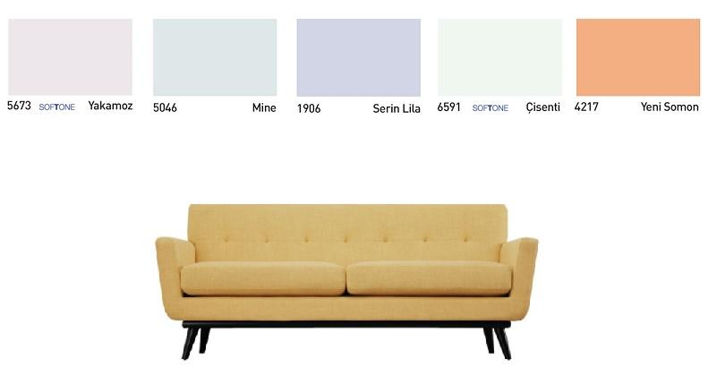 Acik-Sari-Koltuk-ile-Uyumlu-Duvar-Renkleri