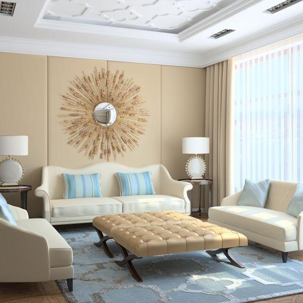 bej rengi kullanımı ile dekorasyon örneği