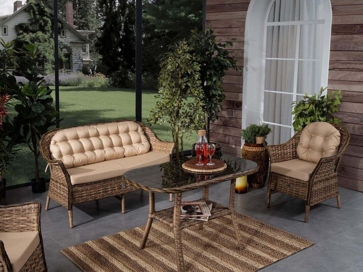 Bahçe Mobilyaları Örnekleri