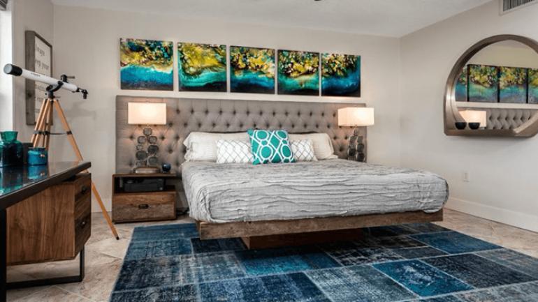 Basit Bir Yatak Odası Dekorasyonu (Video)
