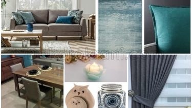 Soru 15: Salon Dekorasyonu İçin Duvar Rengi, Halı ve Perde Seçimi